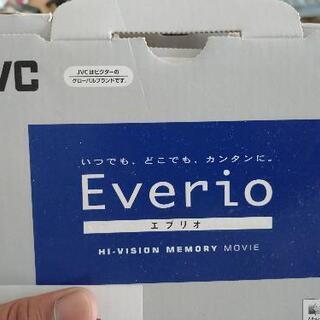jvc エブリオ  ハイビジョン メモリー ビデオカメラ