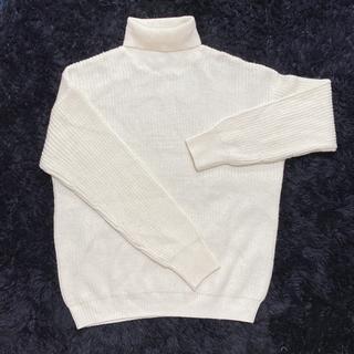 【レディース】タートルネックセーター