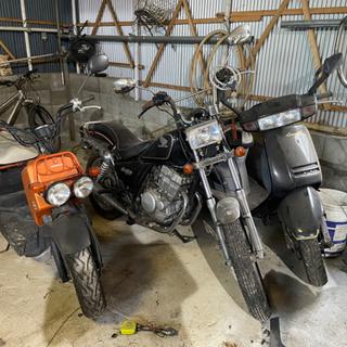 【ネット決済】バイク3台