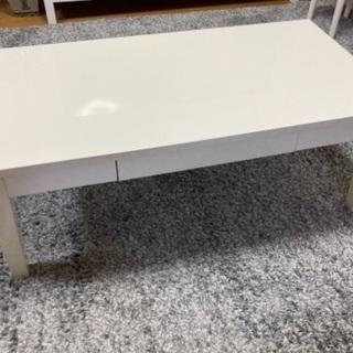 【ネット決済】白ツヤありテーブル