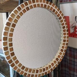 モザイクタイル 壁掛け鏡 ミラー