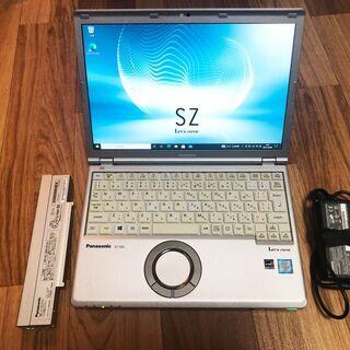 レッツノート SZ5 【メモリ8GB/SSD】【追加バッテリー】