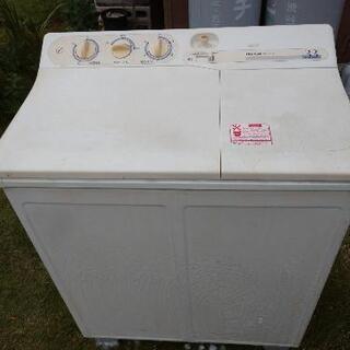 📎日立の二層式洗濯機 《 引き取り限定》定型文4種類を使わず、既...