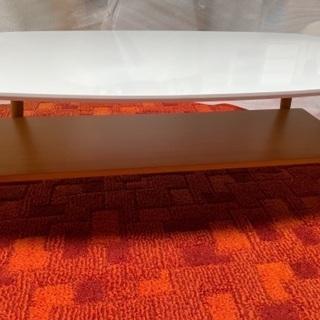 【ネット決済】白のローテーブル