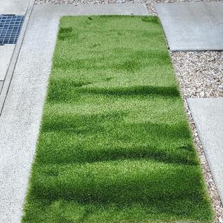 人工芝 高品質 防草シート兼 1メートル×2メートル