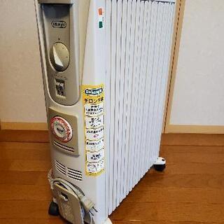 【取引中】【さらに値下げ】デロンギ製オイルヒーター ☆美品☆空気...