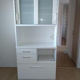 食器棚 白 H1800 W880 D420