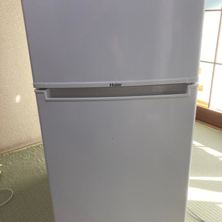【ネット決済】Haier冷凍冷蔵庫 2018年製 1人用予備冷蔵...