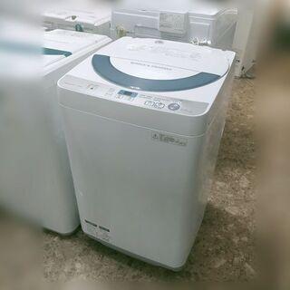 シャープ 全自動電気洗濯機 ES-GE55R-H 2016…