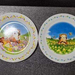ラスカルのお皿 2枚