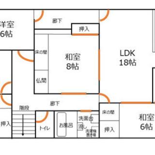 富山市東中野3丁目 5LDK 駐車場2台無料