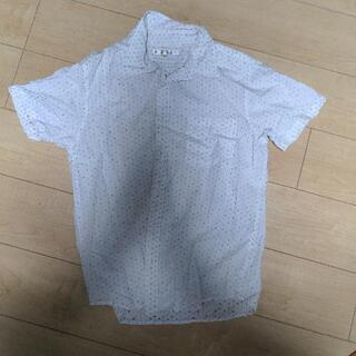 ドット 半袖シャツ