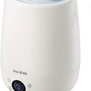 【新品未使用】加湿機 上から給水 4.5L 大容量 知能恒湿3段...