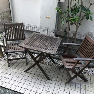 バルコニー セット テーブル 椅子