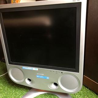SHARP初期の液晶テレビ