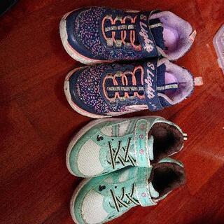 子供靴 17と18