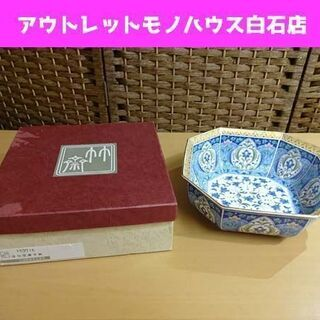 未使用 三洋陶器 金七宝菓子鉢 直径 約22cm 皿 器 食器 ...