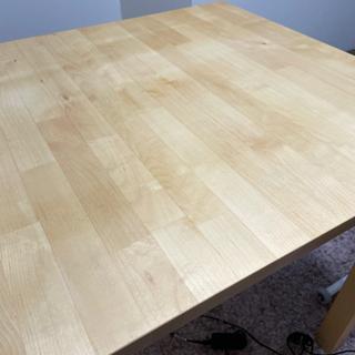 【ネット決済】【ニトリ購入】スクエア型テーブル ウッド 木製