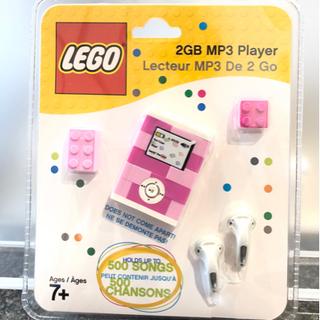 新品 レゴ MP3プレーヤー ピンク