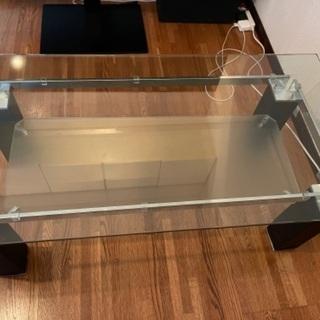 ニトリ ガラステーブル ニューヨーク2