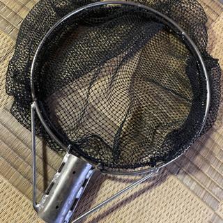たも網 スカリ 生簀 作製します。 釣りの魚を活かすのに