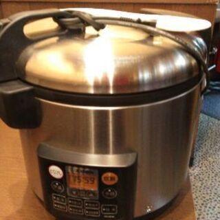 【ネット決済・配送可】象印 炊飯器 2升炊き