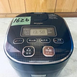 1626番 SHARP✨ジャー炊飯器✨KS-C5J-B‼️