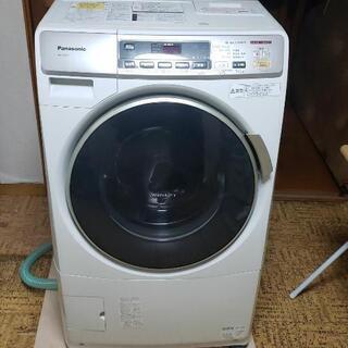 パナソニックドラム式洗濯乾燥機 引き取り限定