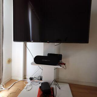 テレビボード テレビ台 白