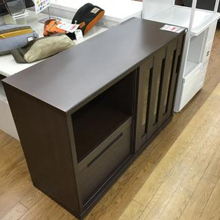 KJ-40【ご来店頂ける方限定】キッチンカウンター ブラウン キズ