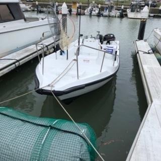 スズキ20feet船外機ボート