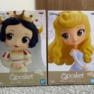 白雪姫とオーロラ姫 Qposket