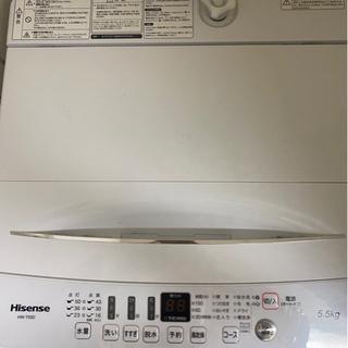 2019年製 洗濯機 0円