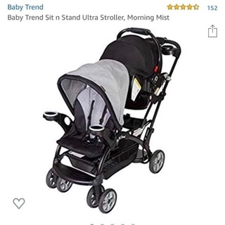 【ネット決済・配送可】baby trend☆ベビーカー