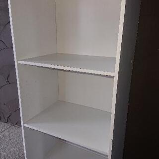 カラーボックス(白)