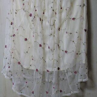 未使用 花柄 スカート size L