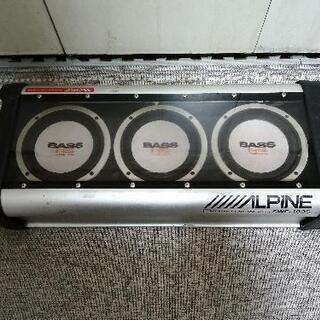 ALPINE POWERED SUBWOOFER SWE-…