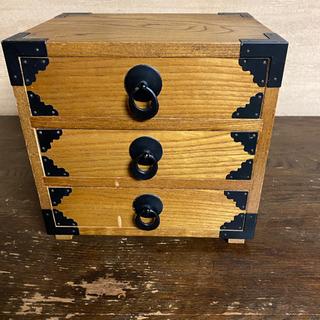 裁縫箱 小物入れ 木製 レトロ