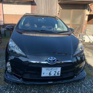 車検2年付きトヨタアクアハイブリット車
