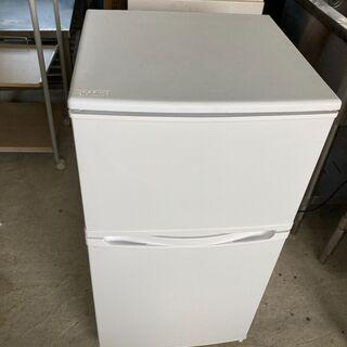 株式会社山善 YFRB-90 2019年製 2ドア冷凍冷蔵…