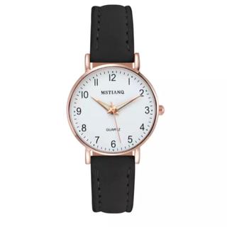 レディース腕時計 ブラック ビジネス シンプル
