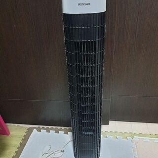 2018年製 定価4,500円 アイリスオーヤマ 扇風機 タワー...