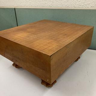 囲碁盤 囲碁台 盤 囲碁 碁 台 高さ約24cm 幅約42cm ...