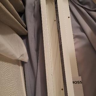 イケヤアート用飾り棚2本·未使用(石膏ボード用ネジとアンカ…