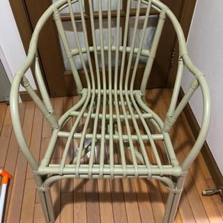 ラタン調 チェア 椅子