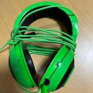 【ネット決済・配送可】razer kraken ゲーミングヘッドフォン