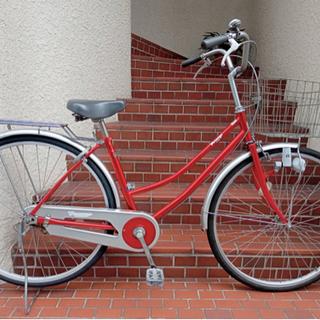 【整備済自転車】美品❗️27インチ リヤタイヤ、ライト新品…