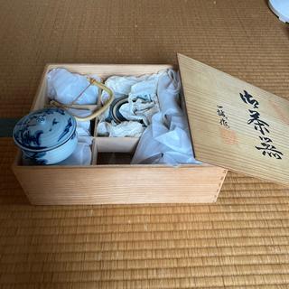 蓋付き茶器セット