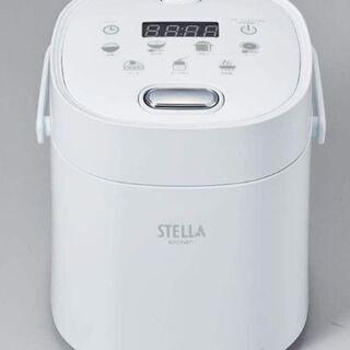 コンパクト多機能炊飯器 2合炊き ホワイト VS-KE02W