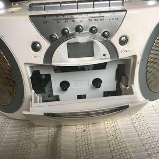 CD&カセットプレイヤー(動作未確認)